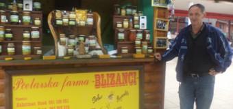 Med i pčelinji proizvodi na ilijaškom šetalištu