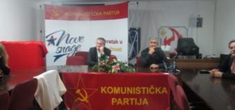 U Ilijašu predstavljeni kandidati Komunističke partije