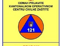 Upozorenje iz Kantonalne uprave civilne zaštite