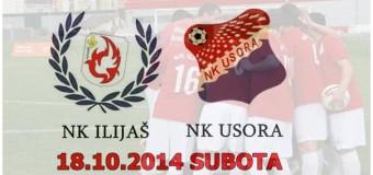Sutra nogometna utakmica NK Ilijaš-NK Usora