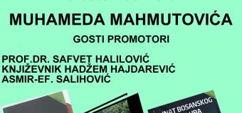 Promocija knjiga autora Muhameda Mahmutovića