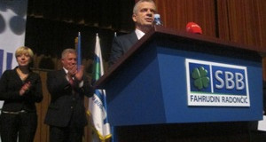 Održan predizborni skup SBB-Fahrudin Radončić u Ilijašu