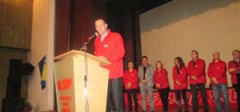 U Ilijašu održan centralni predizborni skup SDP-a