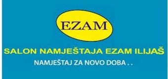 Ove sedmice Sponzor nagradne igre Ezam Ilijaš