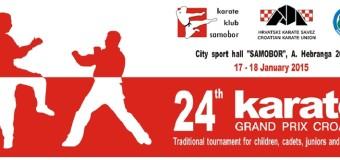 Ilijaški  karatisti na prestižnom međunarodnom turniru Grand Prix Croatia u Samoboru