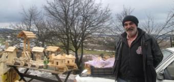 Ljubav prema izradi predmeta od drveta stvorila isplativ hobi za Muhameda Herića