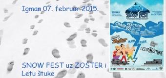 Snow Fest Sarajevo ovog vikenda na Igmanu