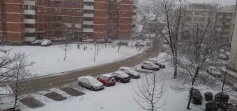 Snježni pokrivač prekrio Ilijaš