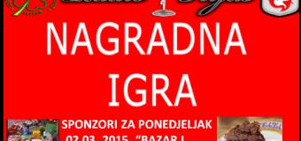 """Sponzori nagradne igre """"Bazar"""" i Čokolada"""""""