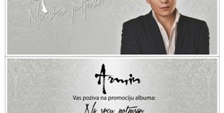 Sutra promocija albuma Armina Muzaferije