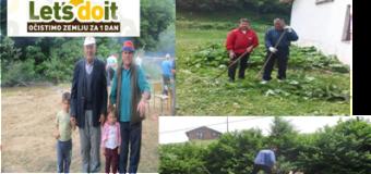 Uz pomoć stotina volontera uspješno provedena akcija Let's do it u Ljubini, Misoči  i Bioči