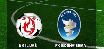 NK Ilijaš danas dočekuje FK Bosna-Sema