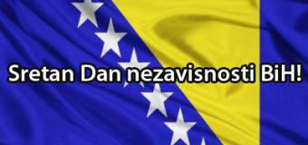 Čestitka povodom Dana Općine Ilijaš i Dana nezavisnosti BiH