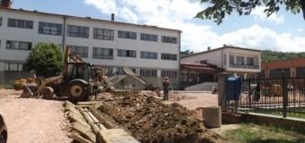 Završni radovi na novom parkingu u Ilijašu