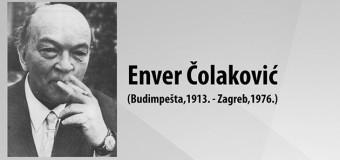 Godišnjica smrti Envera Čolakovića