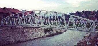 Novi most na rijeci Misoči u Starom Ilijašu