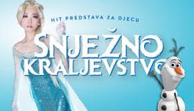 """Predstava """"Snježno kraljevstvo-Frozen"""" u nedjelju u kinu Ilijaš"""