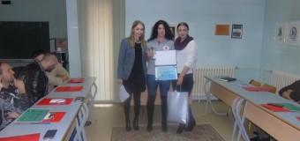 Titula najboljeg volontera općine Ilijaš za 2016. godinu pripala Amini Hasečić