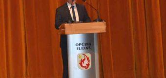 Obraćanje načelnika Akifa Fazlića na svečanoj sjednici povodom Dana Općine Ilijaš