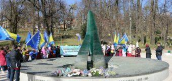 Učenici i nastavnici PBK Lješevo tradicionalnim defileom kroz Sarajevo obilježili Dan nezavisnosti BiH