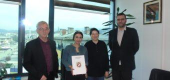 """Dodijeljeni Ugovori o finansiranju projekata  Omladinskoj organizaciji """"Carpe Diem –Iskoristi dan"""" i KK """"Mladost"""" Ilijaš"""