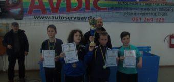 Kerim Fazlić i Merjem Mešin pobjednici Trećeg otvorenog turnira u stonom tenisu