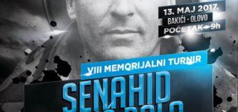 "Sutra u Bakićima 8. Memorijalni turnir"" Senahid Bolić Bolo"""