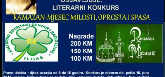 Poziv za učešće u literarnom ramazanskom konkursu JU KSC i Radio Ilijaš