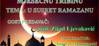 """U nedjelju mjesečna tribina na temu """"U susret Ramazanu"""""""