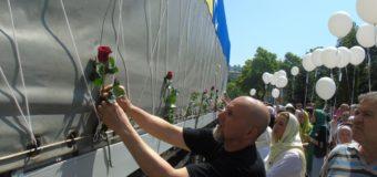 Iz Ilijaša ispraćen konvoj sa posmrtnim ostacima srebreničkih žrtava