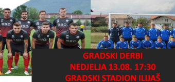 U nedjelju utakmica NK Ilijaš-NK Jedinstvo Ljubnići