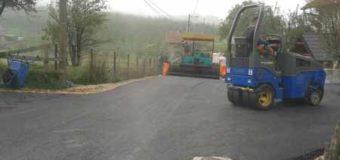 Danas asfaltiranje puta u MZ Podlugovi u naselju Sovrle