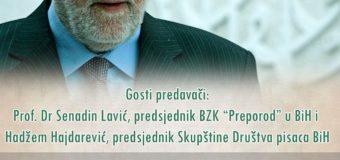 """U petak književno veče """"Sjećanje na književnika Nedžada Ibrišimovića"""""""