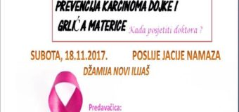Predavanje u Ilijašu- Prevencija karcinoma dojke i grlića materice-Kada posjetiti doktora?