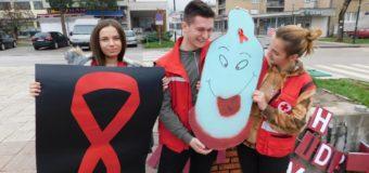 Mladi CK Ilijaš obilježili 01. decembar – Svjetski dan borbe protiv HIV/AIDS-a