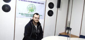 """Eldar Šehić dobitnik priznanja """"Volonter godine"""" za promociju dobrovoljnog davalaštva krvi"""