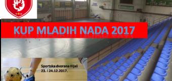 """Ovog vikenda u Sportskoj dvorani Ilijaš """"Kup mladih nada"""" 2017"""