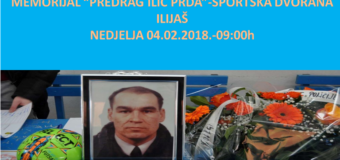 """U nedjelju Memorijal """"Predrag Ilić-Prda"""""""