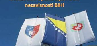 Čestitka povodom Dana reintegracije Općine Ilijaš i Dana nezavisnosti BiH