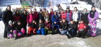 Počela Škola skijanja za učenike iz Ilijaša