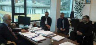 Radni sastanak načelnika Akifa Fazlića i predstavnika Željezare Ilijaš
