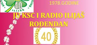 Radio Ilijaš obilježava  veliki jubilej 40 godina rada-popust 20 % na sve reklame