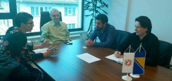 Sastanak predstavnika međunarodne organizacije World Vision i općinskog načelnika