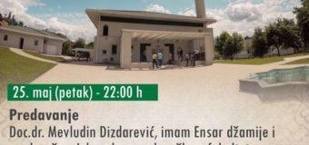 Najava predavanja i promocije knjige u džamiji Podlugovi