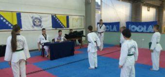 Uspješno polaganje za viša učenička zvanja članova Taekwondo kluba Ilijaš