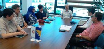 Radni sastanak načelnika i predstavnika Zavoda za izgradnju KS