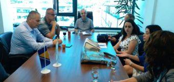 """Sastanak sa predstavnicima Centra """"Vladimir Nazor""""-podrška djeci sa poteškoćama u razvoju"""