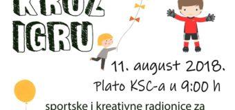 Kreativno-umjetničke i sportske radionice za djecu