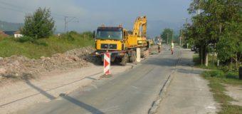 Radovi na rekonstrukciji puta u Lješevu i uređenje korita Stavnje
