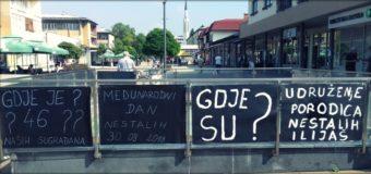 U Ilijašu obilježen Međunarodni dan nestalih osoba